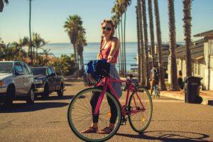 fitness und mobilität mit dem fahrrad